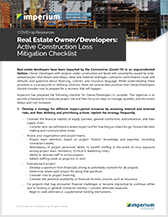 Imperium One Sheet_Real Estate Owner Under Construction Loss Mitigation Checklist-Thumb